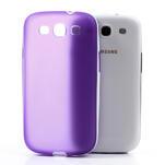 Gelové rámované pouzdro na Samsung Galaxy S3 i9300- fialové - 5/6