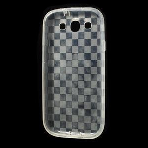Gélové koskaté puzdro na Samsung Galaxy S3 i9300- transparentný - 5