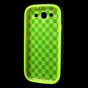 Gélové koskaté puzdro na Samsung Galaxy S3 i9300- zelené - 5