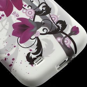 Gélové puzdro pro Samsung Galaxy S4 i9500- kvetové puzdro - 5