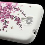 Gélové puzdro pro Samsung Galaxy S4 i9500- kvitnúca slivka - 5/7