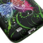 Gélové puzdro pro Samsung Galaxy S4 i9500- farebný motýl - 5/5