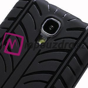 Gelové PNEU pouzdro pro Samsung Galaxy S4 i9500- černé - 5
