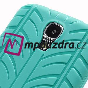 Gélové PNEU puzdro pro Samsung Galaxy S4 i9500- zelené - 5