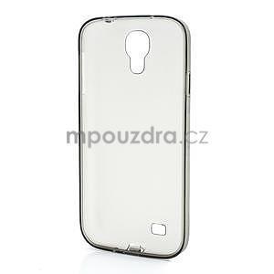 Gélové slim puzdro na Samsung Galaxy S4 i9500- šedé - 5