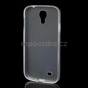 Gélové slim puzdro na Samsung Galaxy S4 i9500- biele - 5