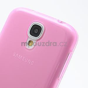 Gélové slim puzdro na Samsung Galaxy S4 i9500- růžové - 5