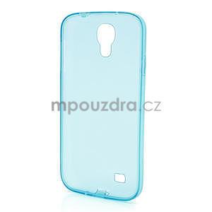 Gélové slim puzdro na Samsung Galaxy S4 i9500- modré - 5