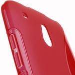 Gélové S-line puzdro pre HTC one Mini M4- červené - 5/5
