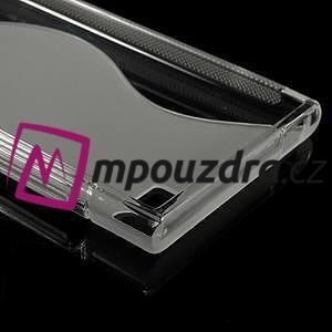 Gélové S-line puzdro na Xiaomi Mi3- transparentný - 5