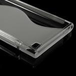 Gélové S-line puzdro na Xiaomi Mi3- transparentný - 5/5
