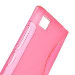 Gélové S-line puzdro na Xiaomi Mi3- růžové - 5/5