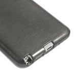 Gélové kartáčované puzdro pre Samsung Galaxy Note 3- čierné - 5/5
