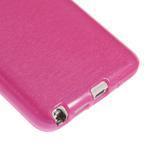 Gélové kartáčované puzdro pre Samsung Galaxy Note 3 Neo- ružové - 5/5
