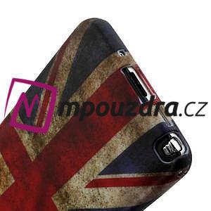 Gélové puzdro na Samsung Galaxy Note 3- UK vlajka - 5