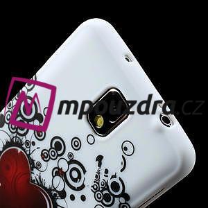 Gélové puzdro na Samsung Galaxy Note 3- horké srdce - 5