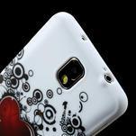 Gélové puzdro na Samsung Galaxy Note 3- horké srdce - 5/6