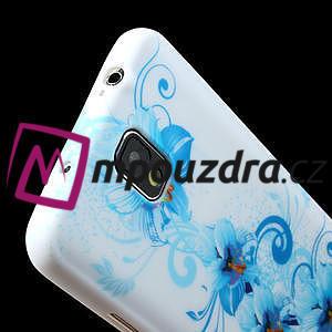 Gélové puzdro na Samsung Galaxy Note 3- modrá lilie - 5