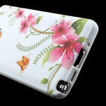 Gélové puzdro na Samsung Galaxy Note 3- červené květy - 5/6