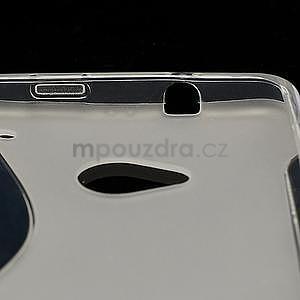 Gélové S-line puzdro pre HTC one M7- transparentný - 5