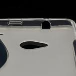 Gélové S-line puzdro pre HTC one M7- transparentný - 5/7