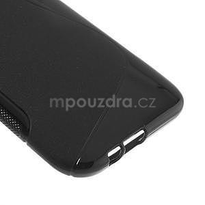 Gélové S-line puzdro pre HTC one M8- čierné - 5