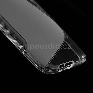Gélové S-line puzdro pre HTC one M8- transparentný - 5