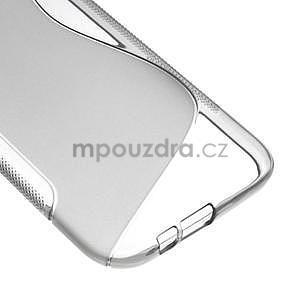 Gélové S-line puzdro pre HTC one M8- šedé - 5