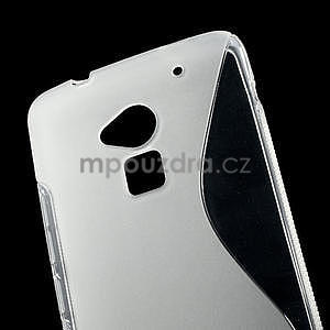 Gélové S-line puzdro pre HTC one Max-transparentný - 5