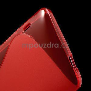 Gélové S-line puzdro pre HTC one Max-červené - 5