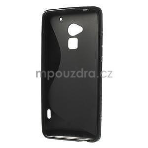 Gélové S-line puzdro pre HTC one Max-čierné - 5