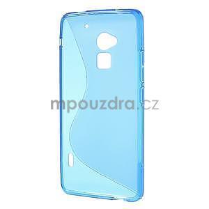 Gélové S-line puzdro pre HTC one Max-modré - 5