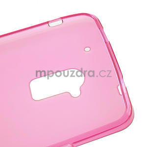Gélové matné puzdro pre HTC one Max- růžové - 5