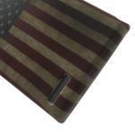 Gélové puzdro na Huawei Ascend G6 - USA vlajka - 5/7