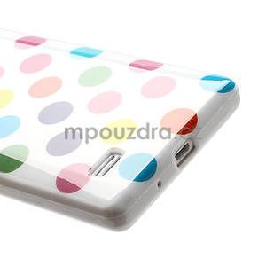 Gélové PUNTÍK puzdro pre LG Optimus L9 P760- různofarebné - 5