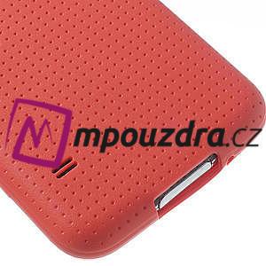 Gelové pouzdro na Samsung Galaxy S5- červené - 5