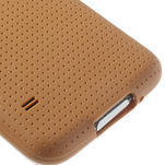 Gélové puzdro pre Samsung Galaxy S5- oranžové - 5/5