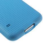 Gélové puzdro pre Samsung Galaxy S5- modré - 5/5