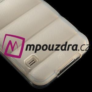 Gelové vesta pouzdro na Samsung Galaxy S5- bílé - 5