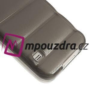 Gélové vesta puzdro pre Samsung Galaxy S5- šedé - 5