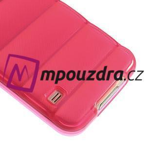 Gelové vesta pouzdro na Samsung Galaxy S5- růžové - 5