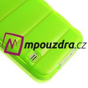 Gélové vesta puzdro pre Samsung Galaxy S5- zelené - 5