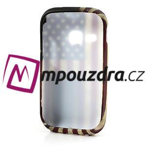 Gélové puzdro na Samsung Galaxy Young S6310- USA vlajka - 5