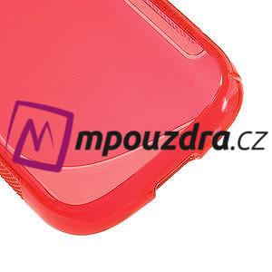 Gélové S-line puzdro na Samsung Galaxy Young S6310- červené - 5
