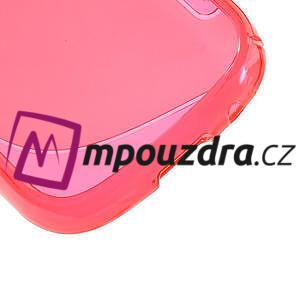 Gélové S-line puzdro pre Samsung Galaxy Young S6310- ružové - 5