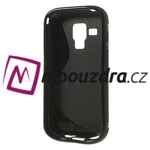 Gélové S-line puzdro pre Samsung Trend plus, S duos- čierné - 5