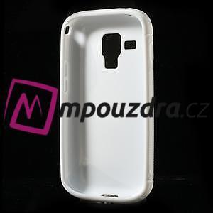 Gélové S-line puzdro pre Samsung Trend plus, S duos- biele - 5