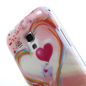 Gélové puzdro na Samsung Galaxy Trend, Duos- labutí srdce - 5