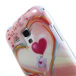 Gélové puzdro na Samsung Galaxy Trend, Duos- labutí srdce - 5/5