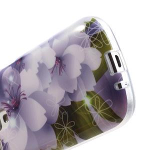 Gélové puzdro na Samsung Galaxy Trend, Duos- elegantný květ - 5